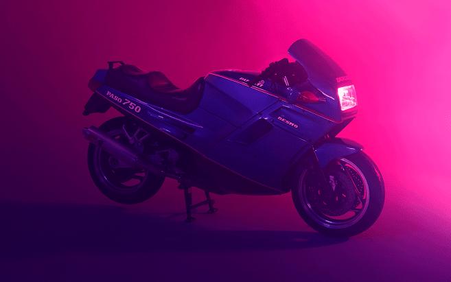 The 1986 Ducati Paso - The most cyberpunk bike ever (apart from the Suzuki Nuda)