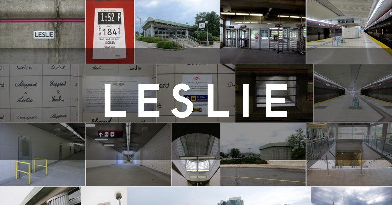 Photo gallery for Leslie station