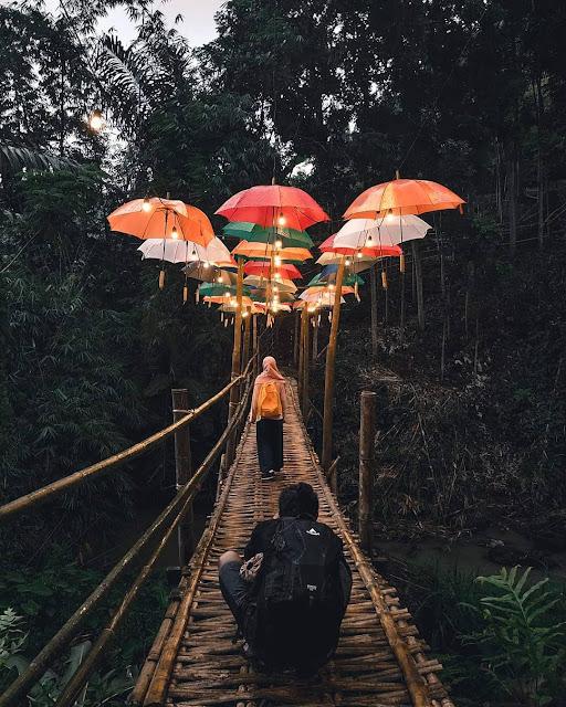 Spot Foto Instagramable Di Curug Gondoriyo