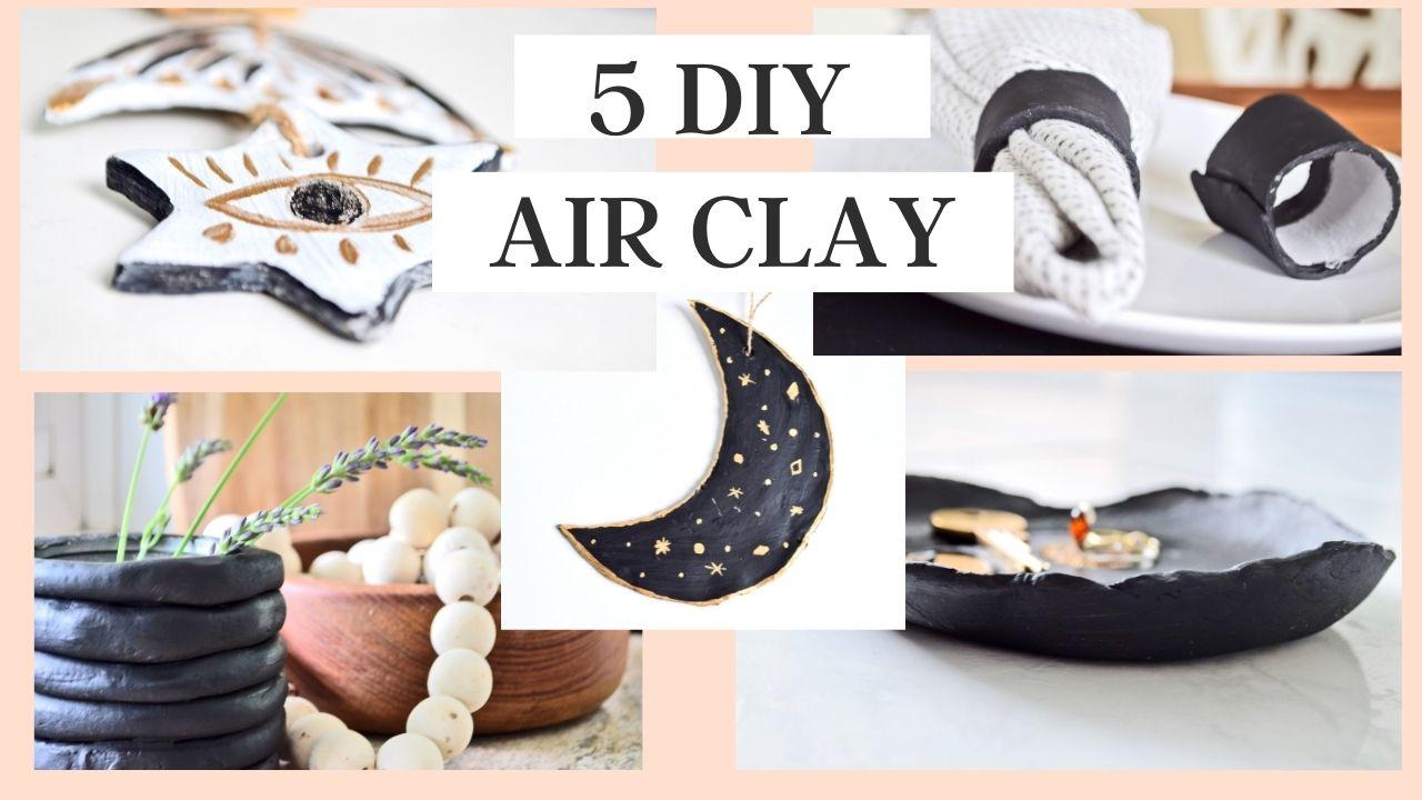 DIY clay air dray