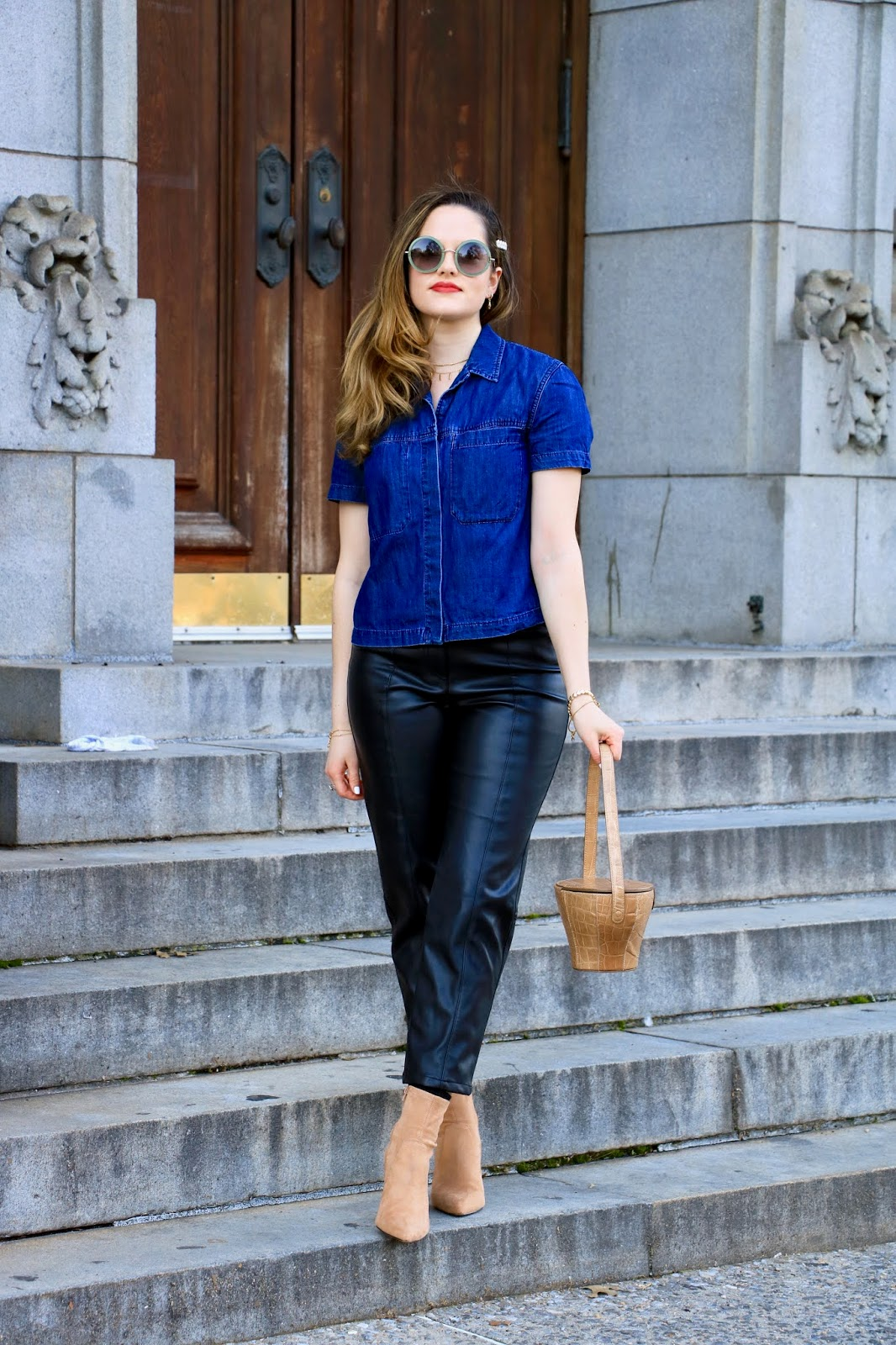 Nyc fashion blogger Kathleen Harper's 2020 spring street style.
