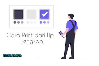 Cara print dari hp ke printer langsung