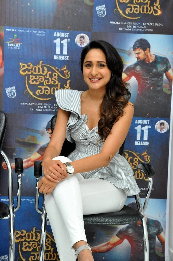 Pragya Jaiswal Jaya Janaki Nayaka Movie Success Press Meet
