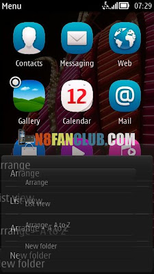 Nokia 808 Pure View - Custom Theme Effects via Custom Firmware CFW from N8 Fan Club