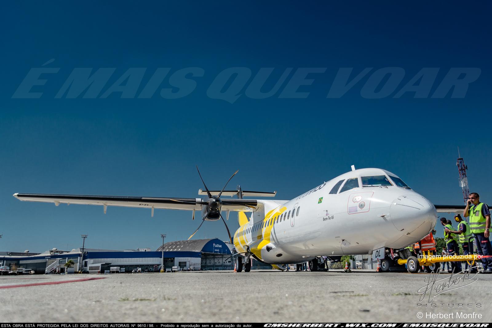 Três Lagoas-MS passará a ter voos para São Paulo (Congonhas) e Campo Grande-MS | Foto © Herbert Monfre | por É MAIS QUE VOAR