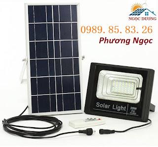 Đèn LED pha năng lượng mặt trời 20W,25W, đèn sân vườn năng lượng mặt trời Unnamed