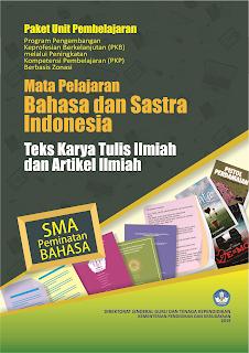PKP SMA Unit Pembelajaran Teks Karya Tulis Ilmiah dan Teks Artikel Ilmiah