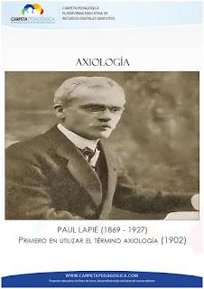 Axiología, Paul Lapie
