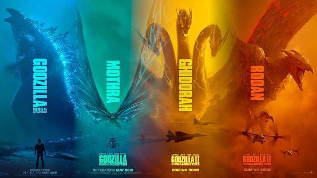 Godzilla 2 Rei dos Monstros é muito bom, e meio ruim