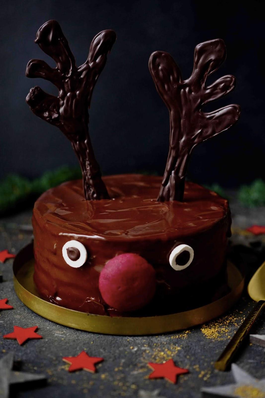 gâteau d enoël , spartacus russe , gâteau aux fruits de la passion ,dessert de Noël