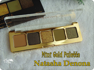 Me estreno con Natasha Denona de la mano de Mini Gold