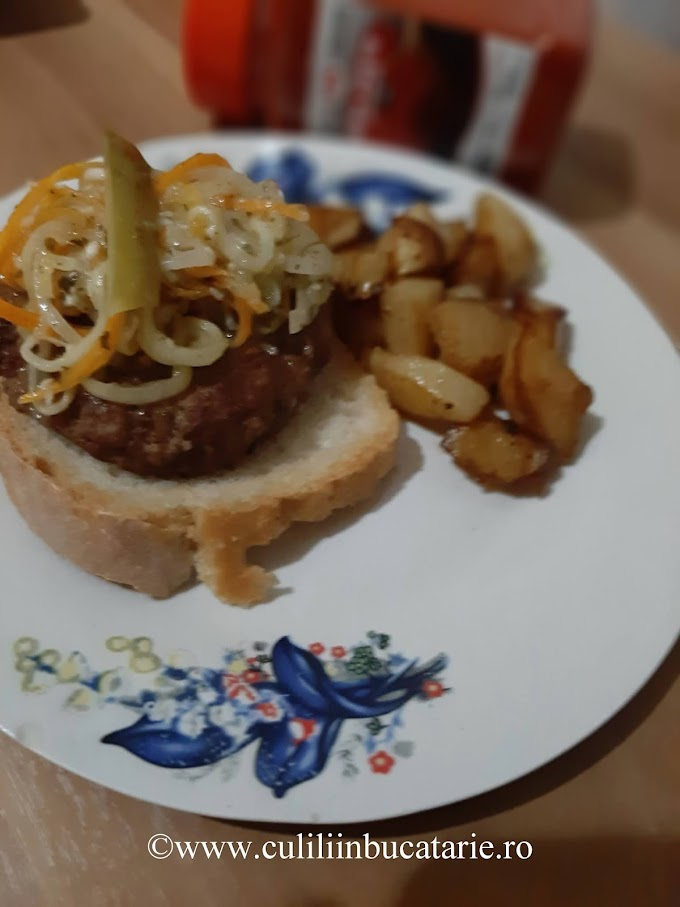Chiftele rapide pentru hamburger