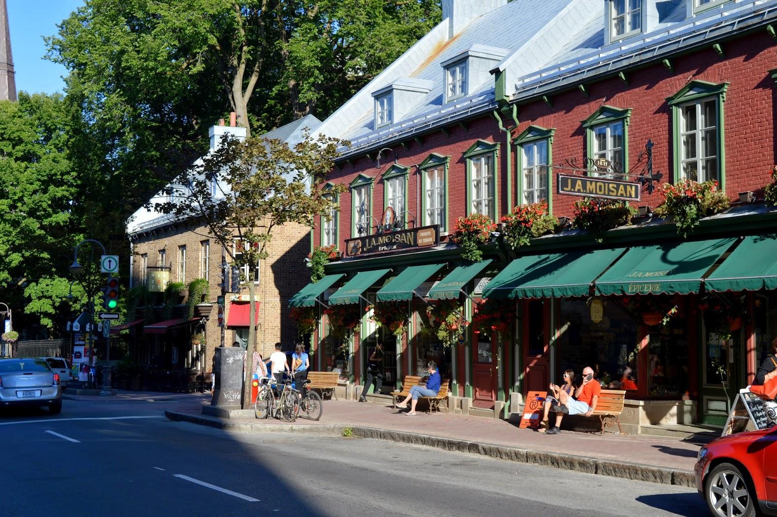 Québec, premières journées