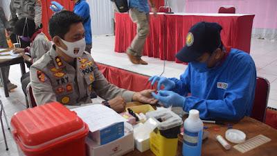 Sambut Hari Bhayangkara, Polres Bone Gelar Donor Darah
