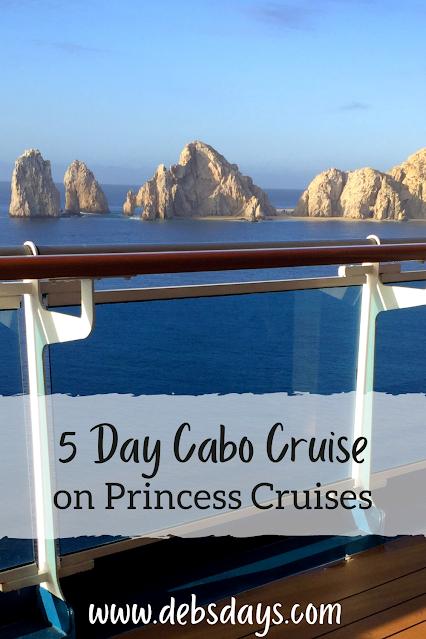 5 day Cabo San Lucas, Mexico cruise on Princess Cruises