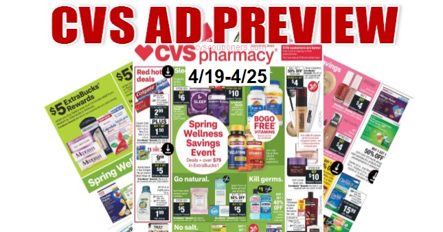 CVS Weekly Ad 4-19-4-25
