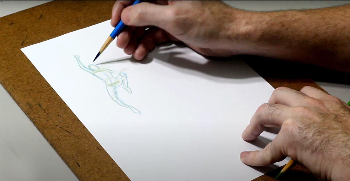 Tutorial de desenho: como dar movimento ao personagem