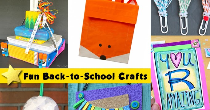 Condo Blues: 7 Back to School Craft Projects