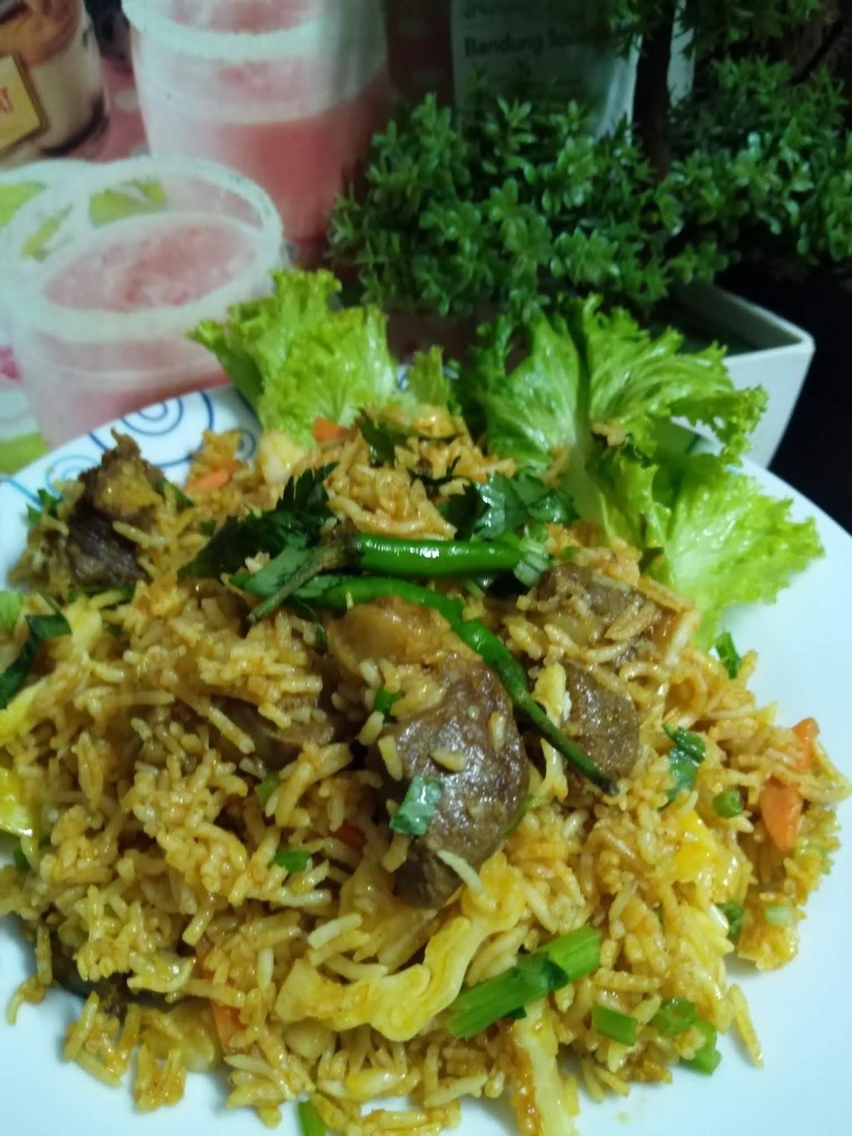 Inilah Resipi Nasi Goreng Kambing Ala Kebon Sirih Yang Sangat Viral Di Indonesia Peminat Daging Kambing Mesti Cuba
