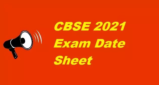 CBSE 2021 Class 10 exams date sheet, revised syllabus