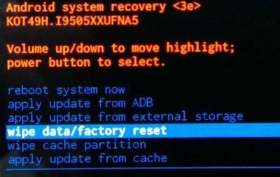 cara mudah reset ulang hp android