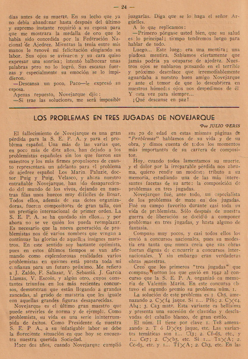 Revista Problemas, mayo/junio 1950, página 24