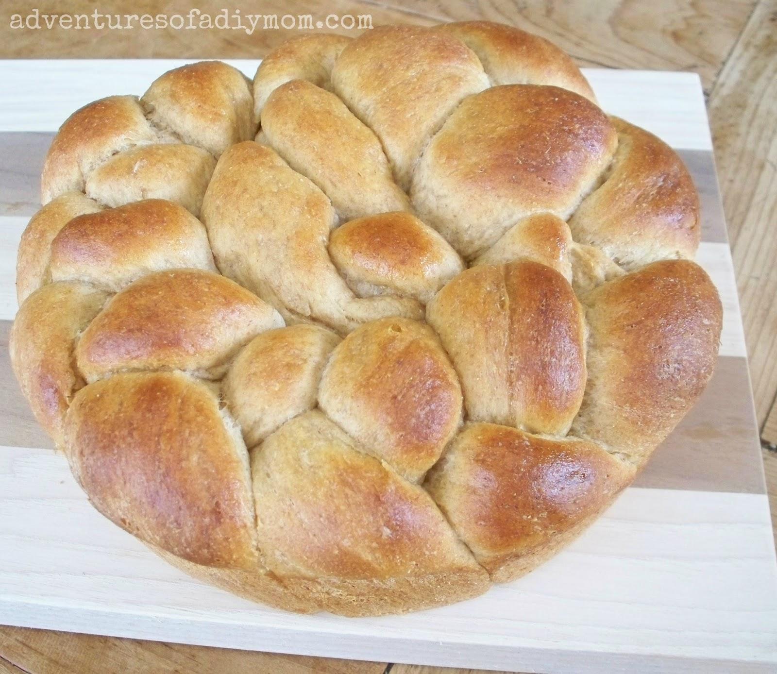 Daisy Braid Bread Recipe