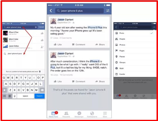 how to see old facebook posts