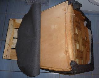 jak wyremontować stary fotel