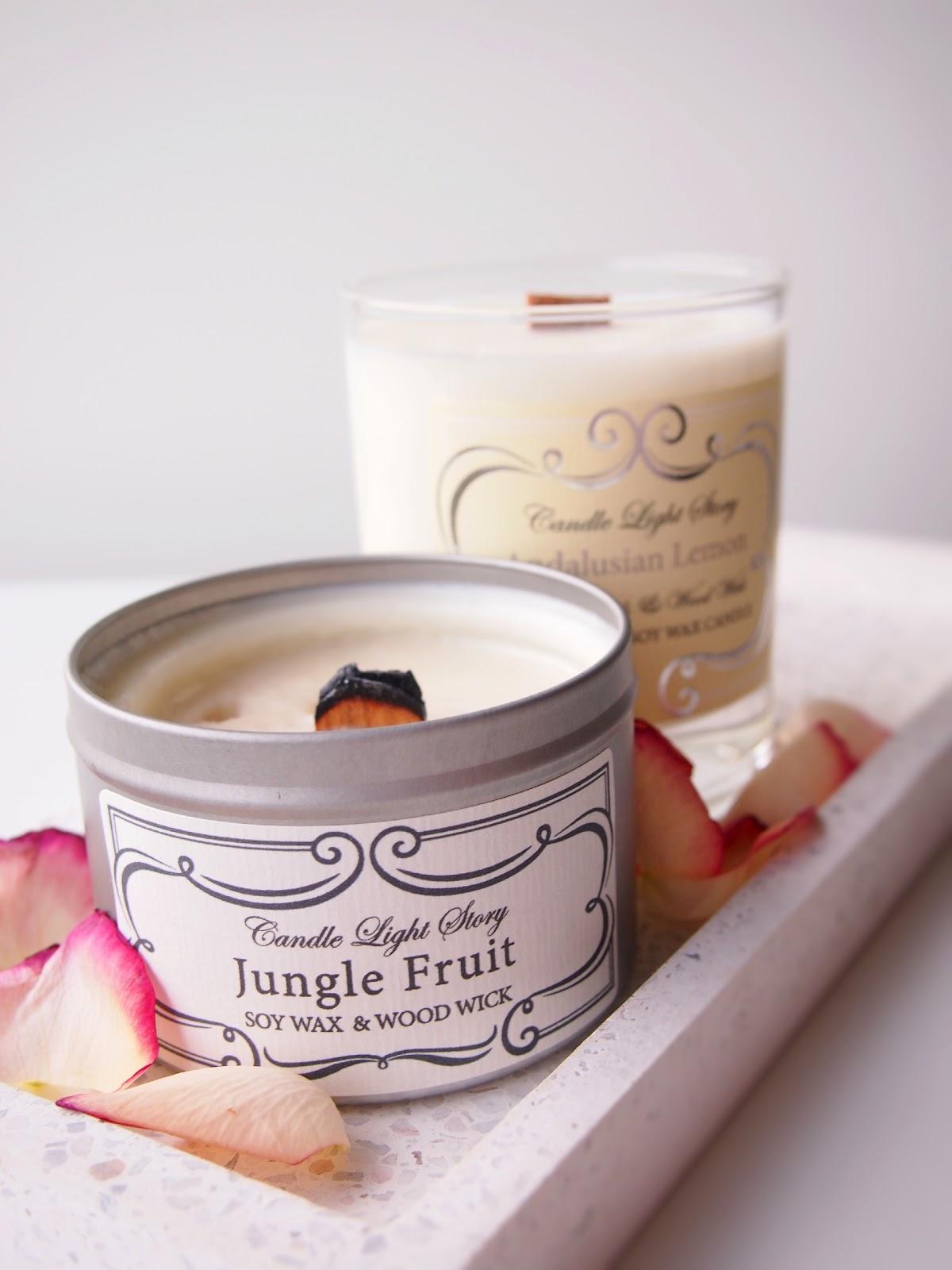 Candle Light Story soijakynttilä