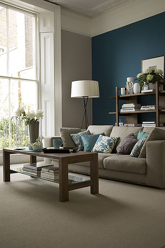 Cheap Home Decors: Traditional home design - Living rooms