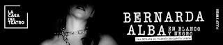 Obra Bernarda Alba en blanco y negro 2019