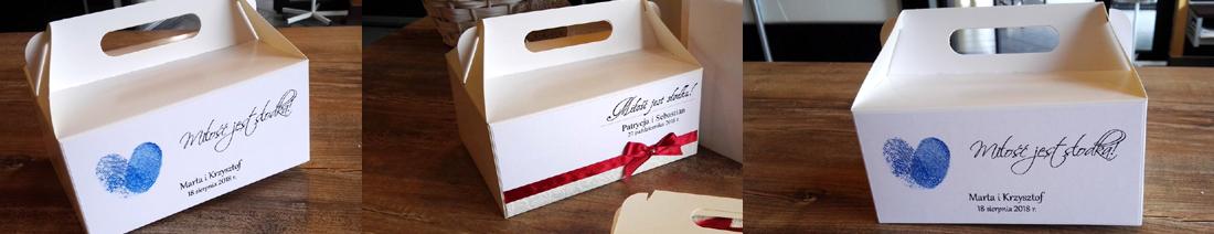 Pudełka na ciasto