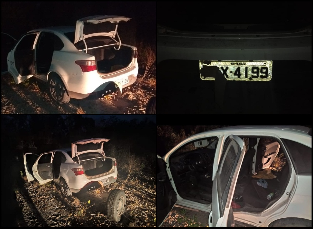 Em tentativa de assalto, duas pessoas são baleadas na zona rural de Brejo