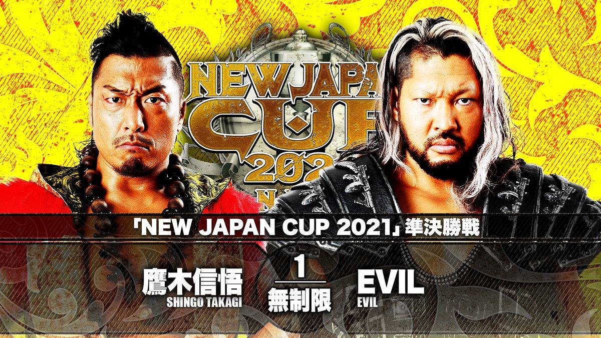 Cobertura: NJPW New Japan Cup 2021 – Day 12 – Contagem regressiva!