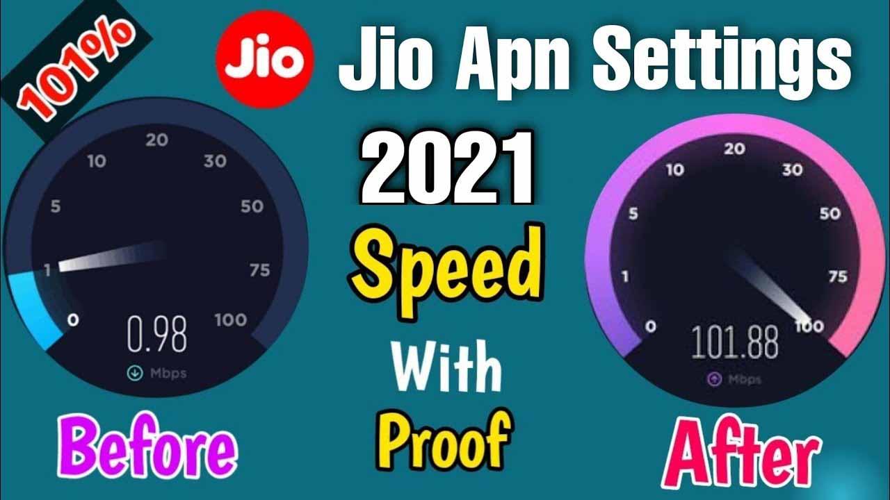 51 Mb/s Speed Jio Network Problem | jio Apn Settings 2021 5G+