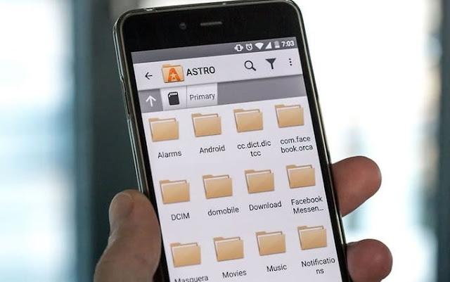 كيفية استخدام متصفح Google Chrome كمستعرض ملفات للهواتف المحمولة على Android
