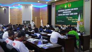 Musprovlub Pemilihan Ketua Pertina Jabar 2020 Dimonitor Polsek Cicendo Polrestabes Bandung