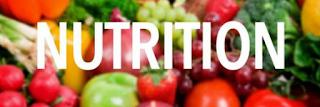 Kegunaaan Nutrisi Bagi Tubuh kita