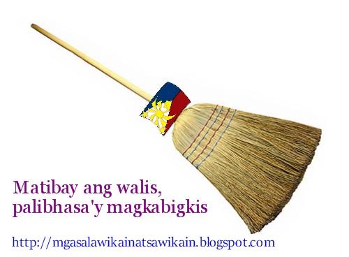 Matibay ang walis, palibhasa'y magkabigkis.