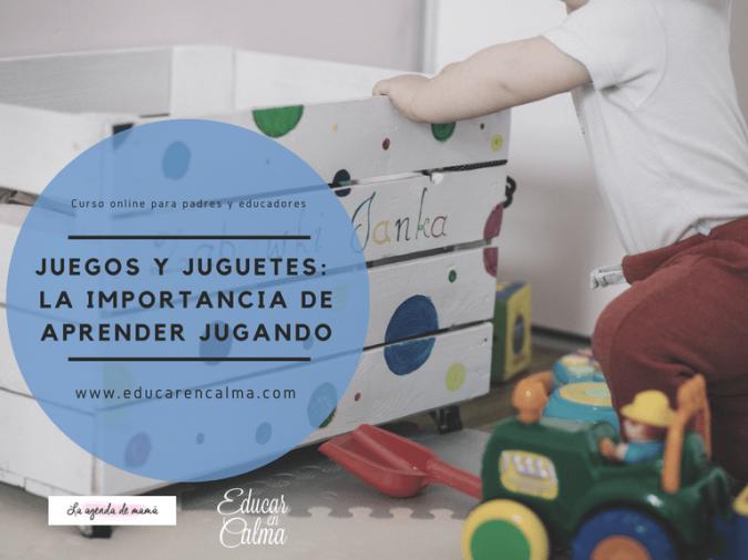 """Curso online para padres """"Juegos y juguetes: La importancia de aprender jugando"""""""
