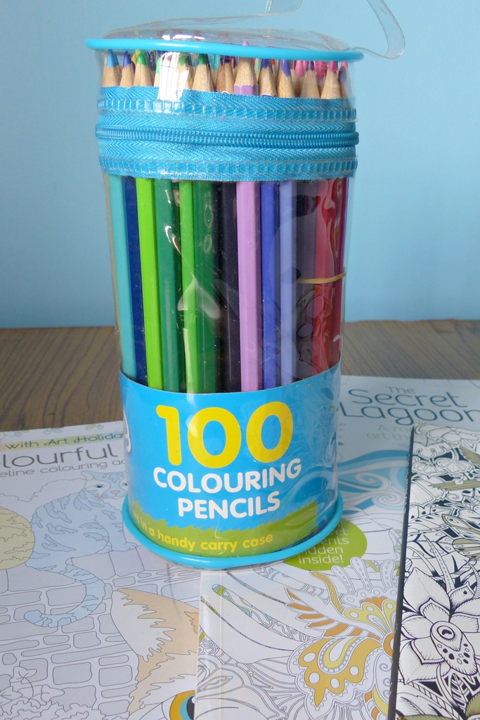Coloring Books Fun Whsmith Let S Create Pack Of 100 Color Pencils