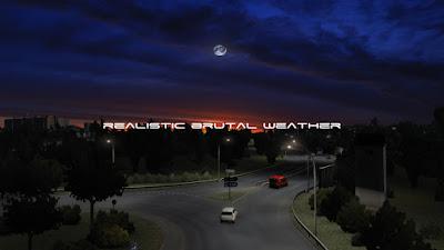 Realistic Brutal Weather (RBW) V5.5 - ETS2 1.38