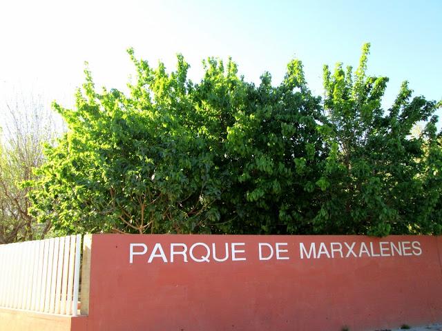 Parque de Marxalenes, abril 2014