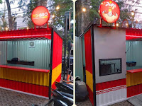 Jasa pembuatan Booth Container - Gerobak Container - Booth Container unik