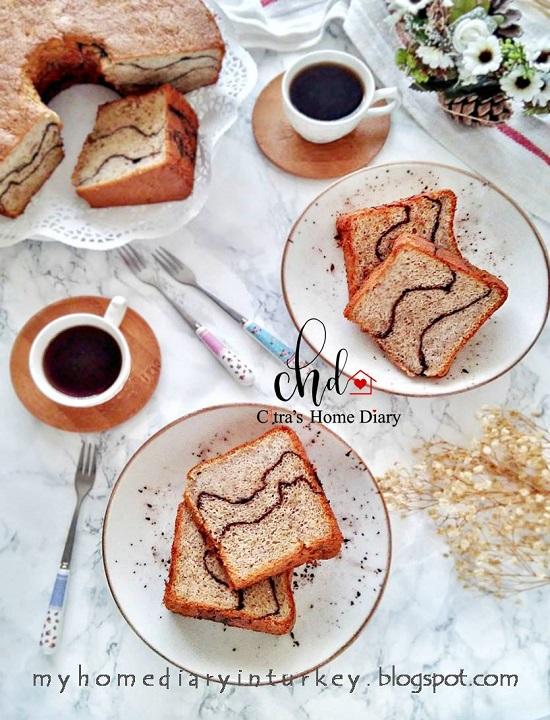 Banana Chiffon Cake Recipe with video | Çitra's Home Diary. #bananacake #chiffoncake #bananachiffoncake #cakerecipe #dessert #resepchiffoncake #şifonkektarifi #şifonkek