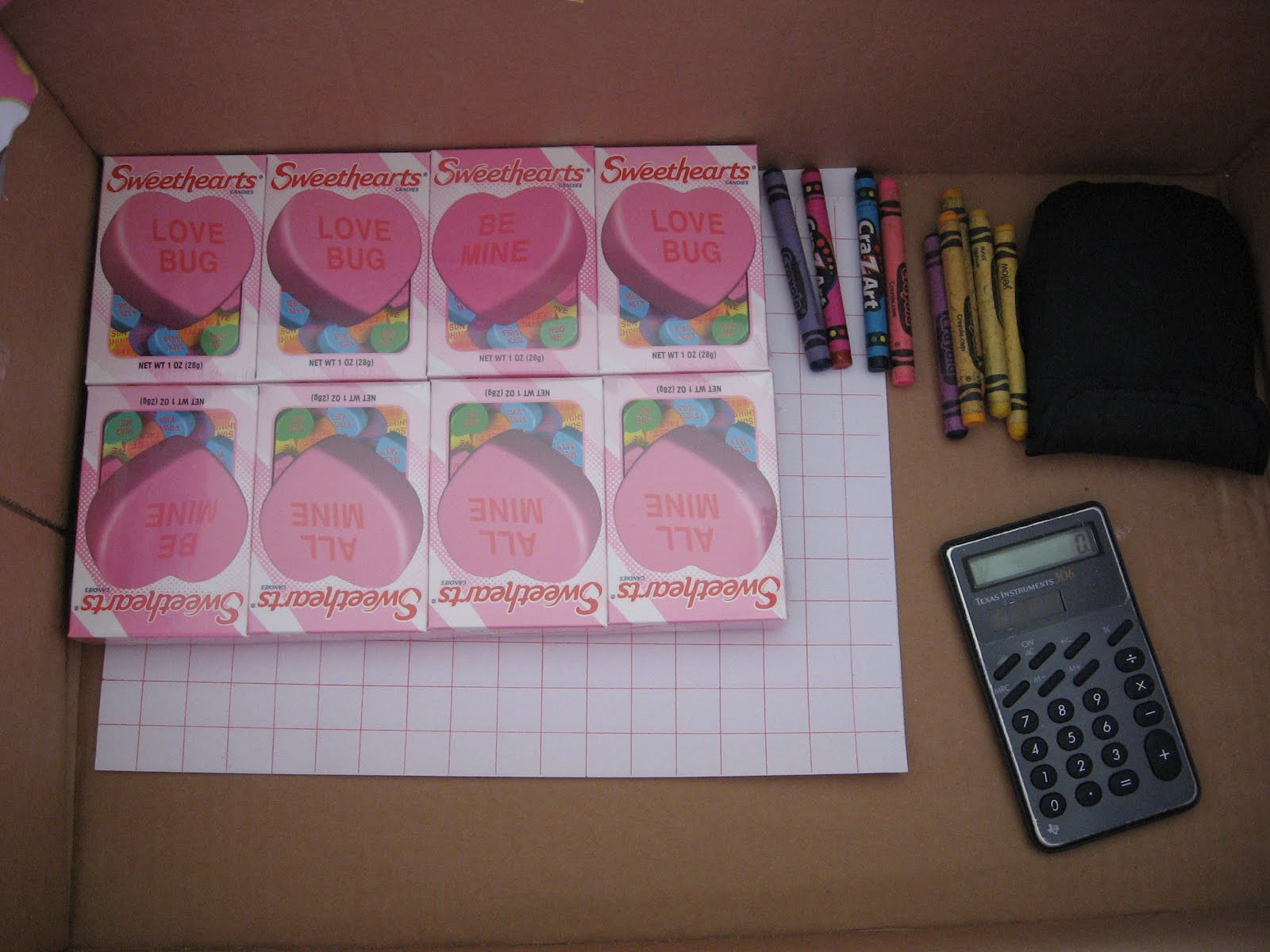 Almost Unschoolers Valentine Surprise Activity Box Day 4