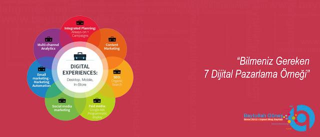 Bilmeniz Gereken 7 Dijital Pazarlama Örneği