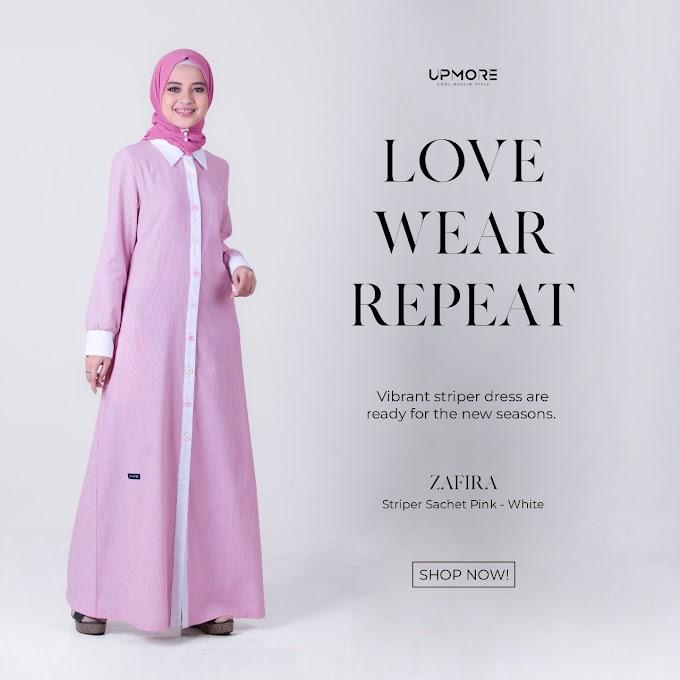 Upmore Zafira Pink-white