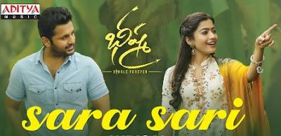 Sara Sari Lyrics - Bheeshma